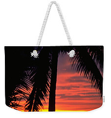 Champagne Sunset Weekender Tote Bag