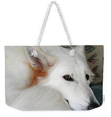 Champanie Janie Weekender Tote Bag