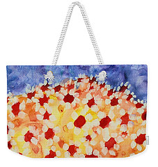 Champs De Marguerites - 01 Weekender Tote Bag by Variance Collections