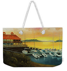 Champs Sunset Weekender Tote Bag