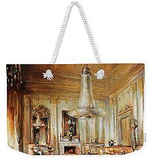 Chandelier Weekender Tote Bag by Vali Irina Ciobanu