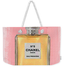 Chanel No 5 Eau De Parfum Weekender Tote Bag