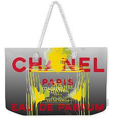 Chanel  No. 5 Pop Art - #1 Weekender Tote Bag