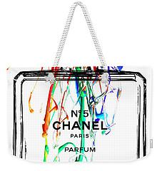 Chanel No. 5 Watercolor Weekender Tote Bag