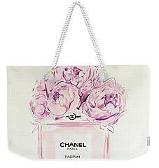 Chanel Peonies Weekender Tote Bag