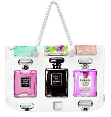 Chanel Perfume Set 9er Weekender Tote Bag