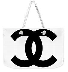 Chanel Symbol Weekender Tote Bag