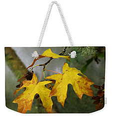 Weekender Tote Bag featuring the photograph Change by I'ina Van Lawick