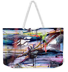 Change In The House Of Flies Weekender Tote Bag