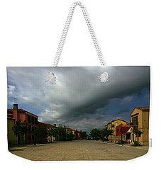 Weekender Tote Bag featuring the photograph Change In The Weather by Anne Kotan