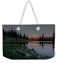 Weekender Tote Bag featuring the photograph Changing Lights by Gene Garnace