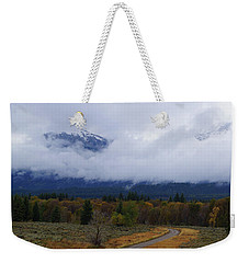 Weekender Tote Bag featuring the photograph Changing Of The Season's by Broderick Delaney