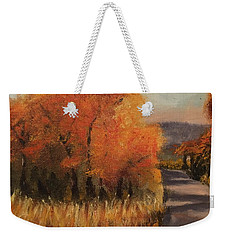Changing Season Weekender Tote Bag