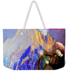 Changing The Atmosphere Weekender Tote Bag by Anastasia Savage Ealy