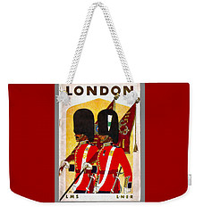 Changing The Guard London - 1937 Weekender Tote Bag
