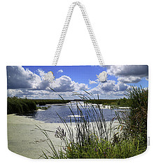 Channel Into J. C. Murphy Lake Weekender Tote Bag