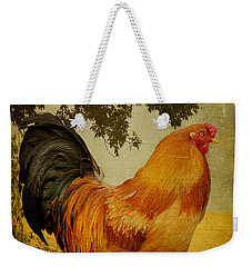 Chanticleer Weekender Tote Bag by Lois Bryan