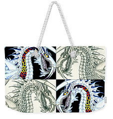 Chaos Dragon Fact Vs Fiction Weekender Tote Bag by Shawn Dall