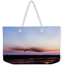 Chaos In Motion - Bird Of Many Birds Weekender Tote Bag by Roeselien Raimond