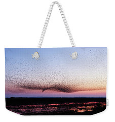 Chaos In Motion - Bird Of Many Birds Weekender Tote Bag