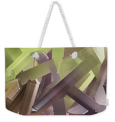Chaos In The Library Abstract Weekender Tote Bag