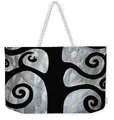Chaos Tree Weekender Tote Bag by Angelina Vick