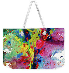 Chaotic Craziness Series 1984.032914 Weekender Tote Bag by Kris Haas