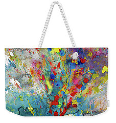 Chaotic Craziness Series 1987.032914 Weekender Tote Bag by Kris Haas