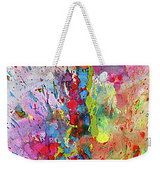 Chaotic Craziness Series 1988.033014 Weekender Tote Bag by Kris Haas