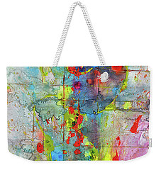 Chaotic Craziness Series 1989.033014 Weekender Tote Bag by Kris Haas