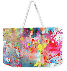 Chaotic Craziness Series 1990.033014 Weekender Tote Bag by Kris Haas