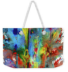Chaotic Craziness Series 1992.033014 Weekender Tote Bag by Kris Haas