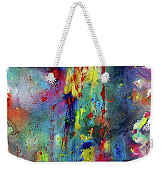 Chaotic Craziness Series 1993.033014 Weekender Tote Bag by Kris Haas