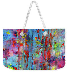 Chaotic Craziness Series 1994.033014 Weekender Tote Bag by Kris Haas