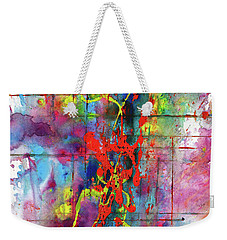 Chaotic Craziness Series 1995.033014 Weekender Tote Bag by Kris Haas