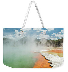 Champagne Pool Weekender Tote Bag