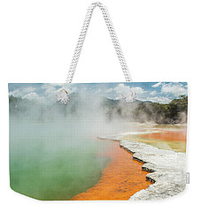 Champagne Pool Weekender Tote Bag