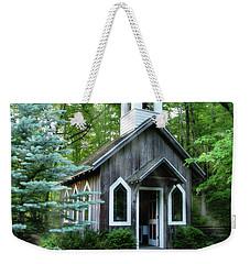 Chapel In The Woods Weekender Tote Bag