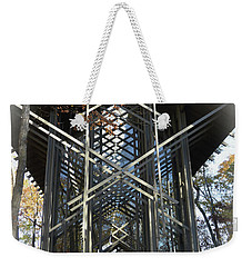 Chapel In The Woods Weekender Tote Bag