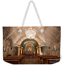 Weekender Tote Bag featuring the photograph Chapel  by Juli Scalzi