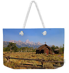 Chapel Of The Transfiguration Weekender Tote Bag by Teresa Zieba