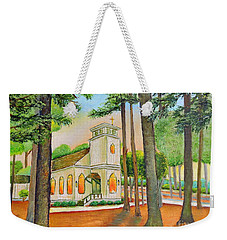 Weekender Tote Bag featuring the painting Chapel by Shelia Kempf