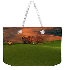 Weekender Tote Bag featuring the photograph Chapel St Barbara. Moravia by Jenny Rainbow