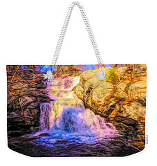 Chapman Falls Connecticut Weekender Tote Bag