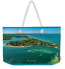 Chapoquoit Island Weekender Tote Bag