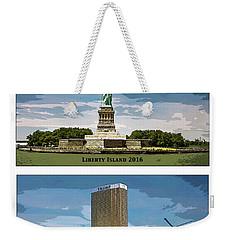 Chapter 11 Lady Liberty Weekender Tote Bag by Joe  Palermo