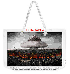 Chapter 20 The End Weekender Tote Bag by Joe  Palermo