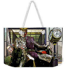 Chapter 7 It's Good To Be King Weekender Tote Bag by Joe  Palermo