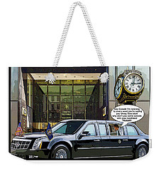 Chapter 9 Voices In His Head Weekender Tote Bag by Joe  Palermo