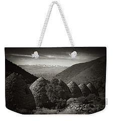 Charcoal Kilns  Weekender Tote Bag by Hugh Smith